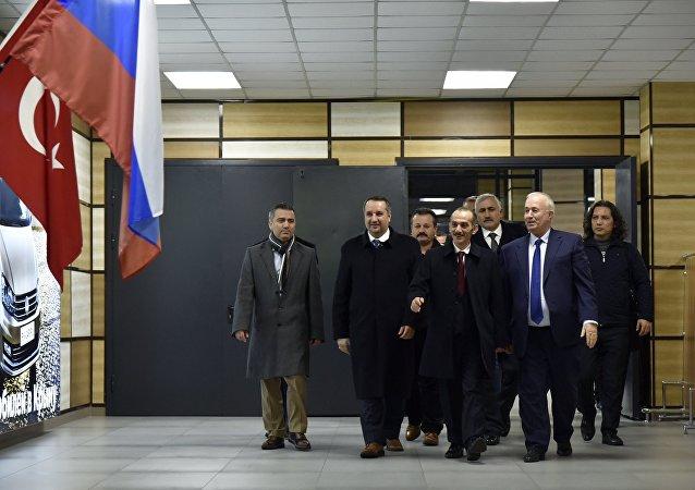 La visita de la delegación turca a Crimea