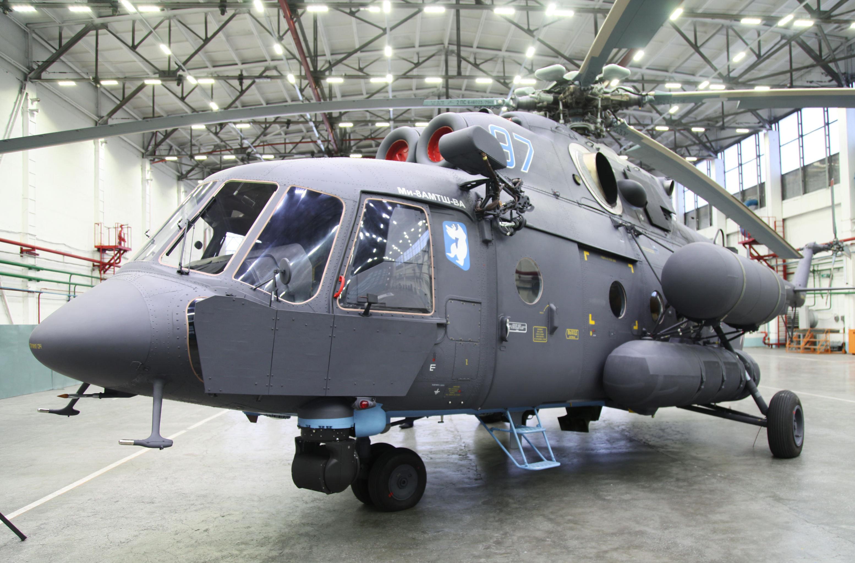 La Armada de la Federación de Rusia recibió su primer helicóptero ártico. La ceremonia de entrega se realizó en la localidad de Ulán-Udé.