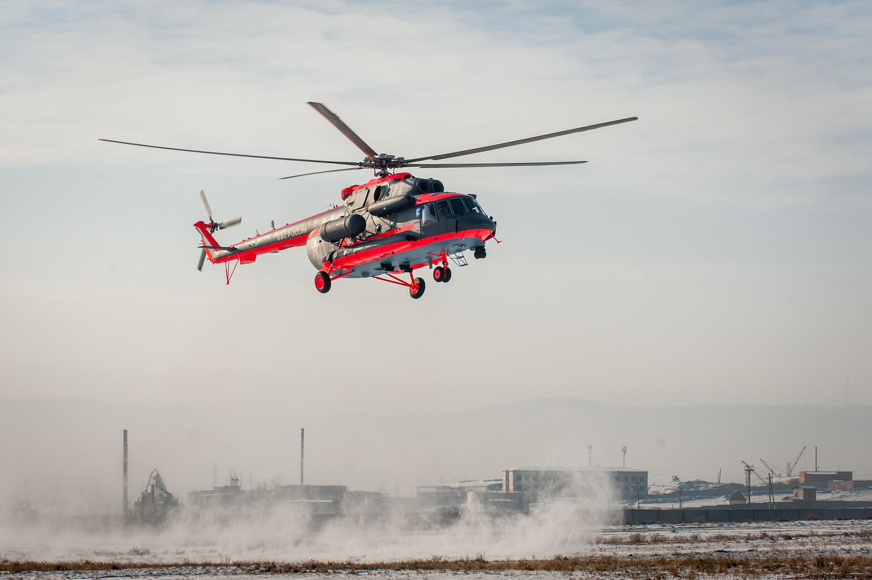 Helicóptero ártico Mi-8AMTSh-VA