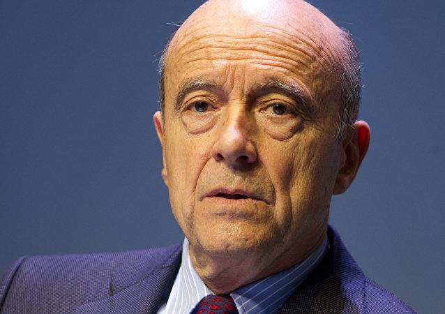 Alain Juppé, ex primer ministro galo