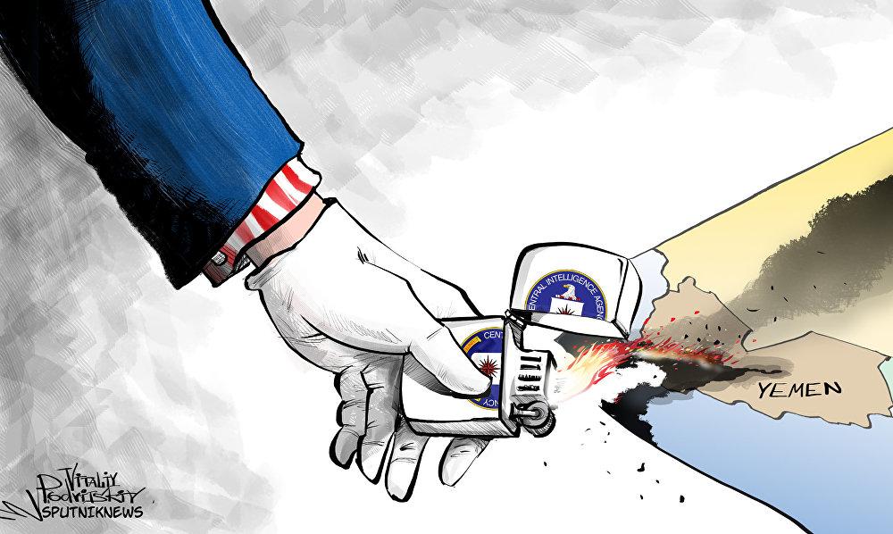 La mano de EEUU en la guerra de Yemen