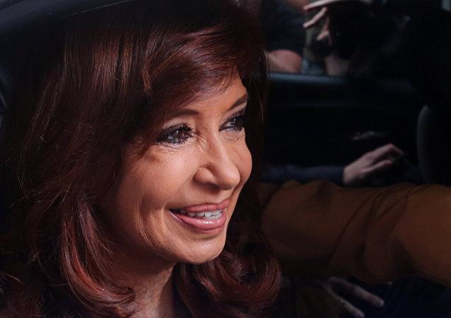 Cristina Fernández de Kirchner, expresidenta de Argentina (archivo)