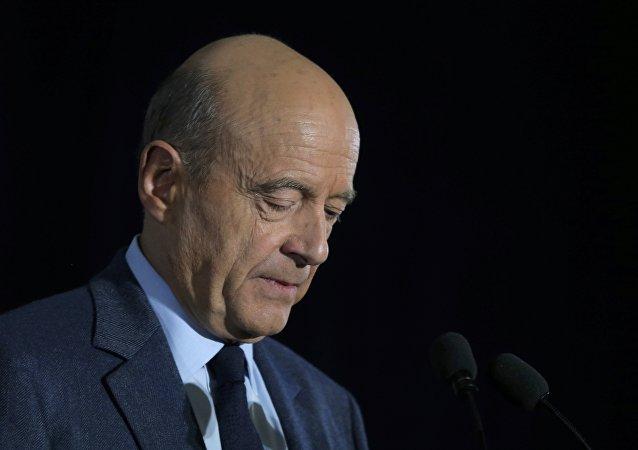 Alain Juppé, el alcalde de Burdeos y ex primer ministro francés
