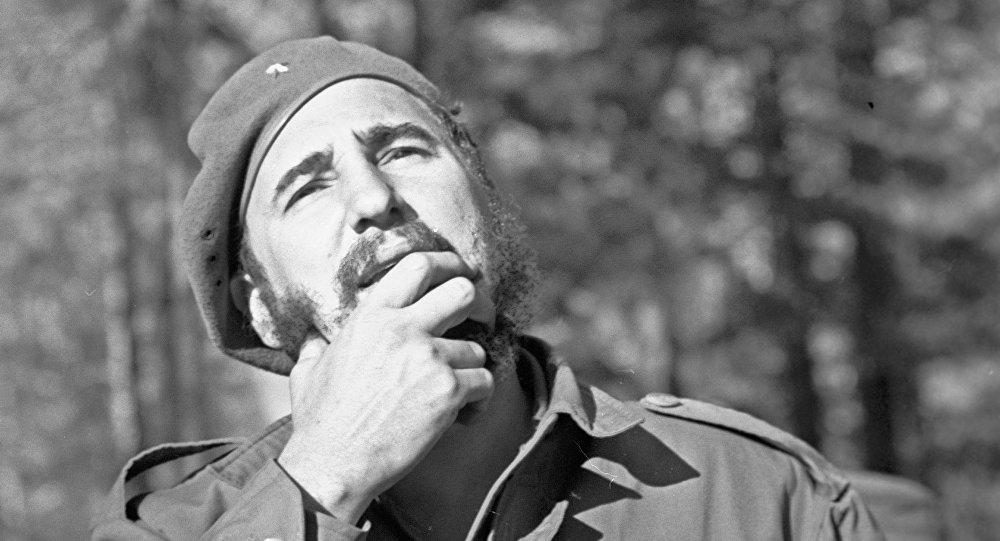 Fidel Castro, fervoroso revolucionario