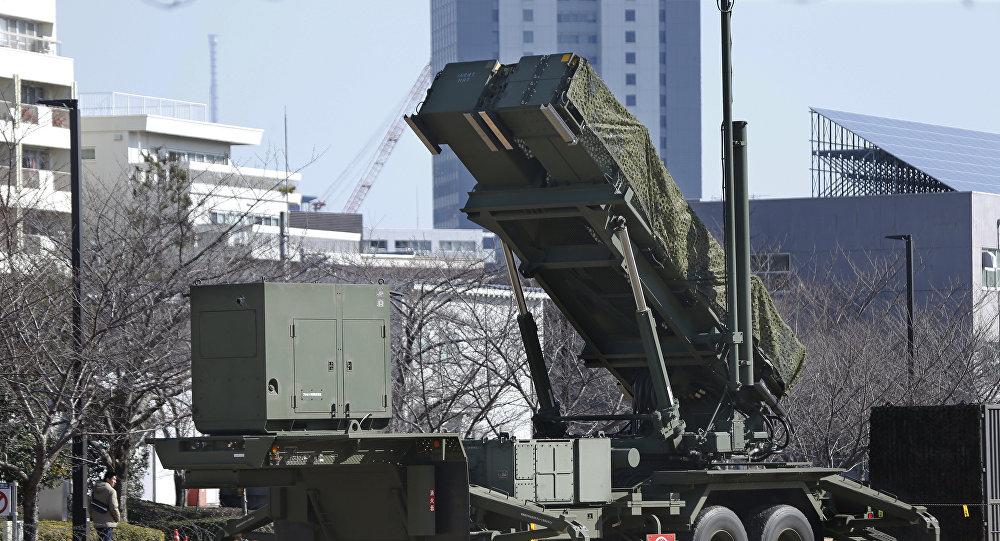 Los sistemas antimisiles japoneses Patriot (PAC-3) (archivo)