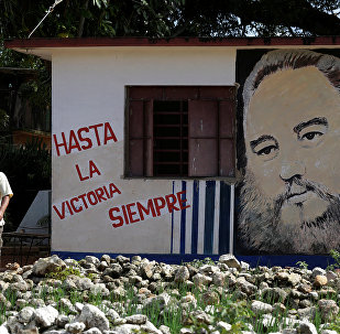 La gente rinde homenaje a Fidel Castro