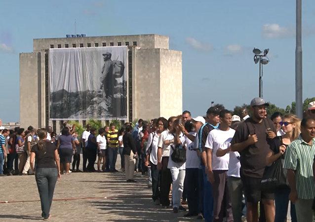 Cuba se despide de Fidel Castro
