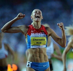 Tatiana Chernova, la atleta rusa