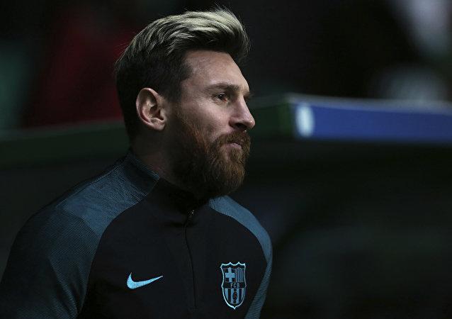 Lionel Messi, futbolista argentino (archivo)