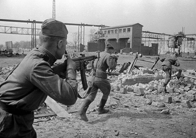 Бой в районе Бранденбурга