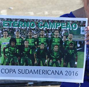 Foto de los jugadores de Chapecoense