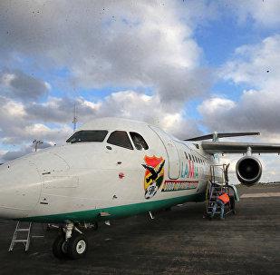 Avión del equipo Chapecoense (archivo)