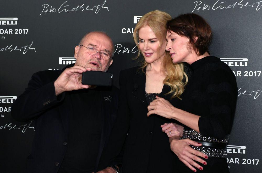 Peter Lindbergh, Nicole Kidman y Uma Thurman