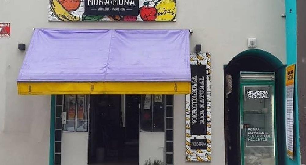La 'heladera social' en Tucumán, Argentina