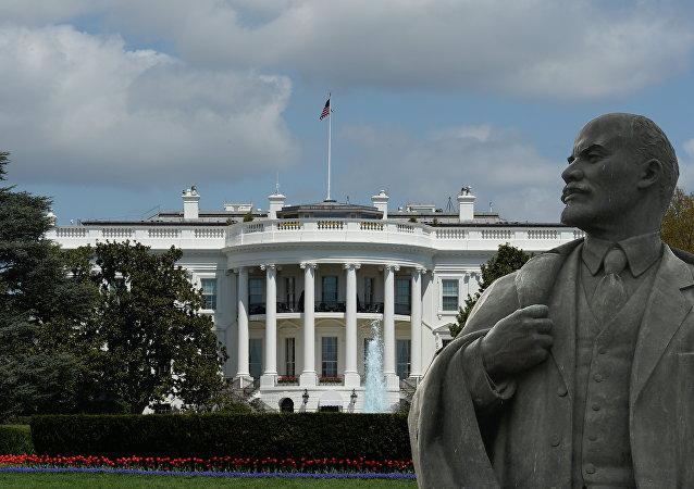 Lenin en la Casa Blanca (montaje)