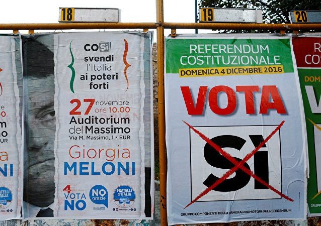 El referendo sobre la reforma constitucional en Italia