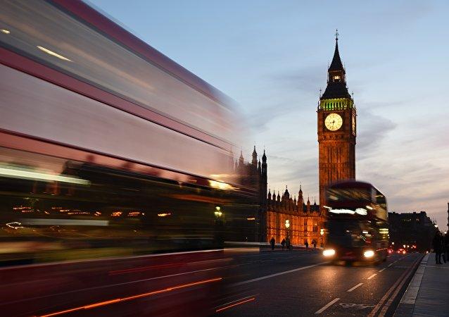 El reloj Big Ben en Londres