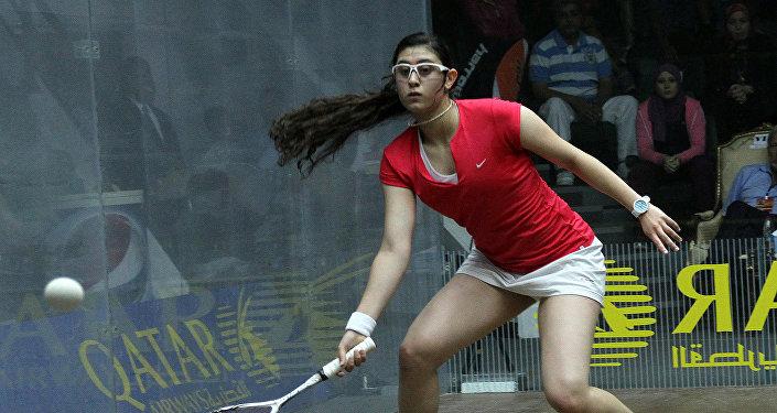 Jugadora egipcia de squash Nour El Sherbini
