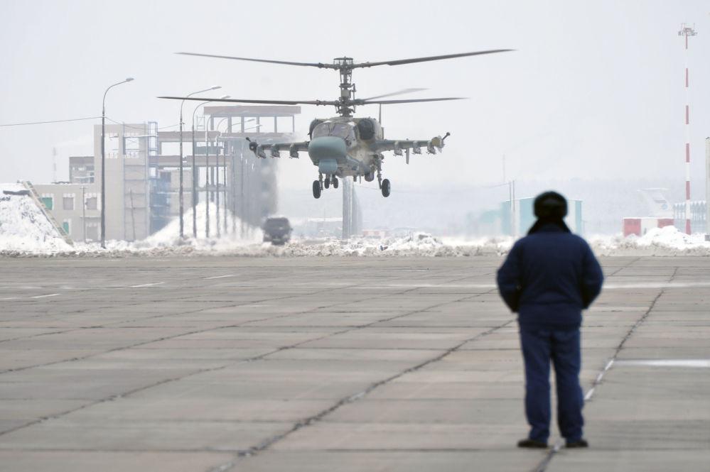 Los 'caimanes de hierro', nuevos helicópteros de ataque Ka-52