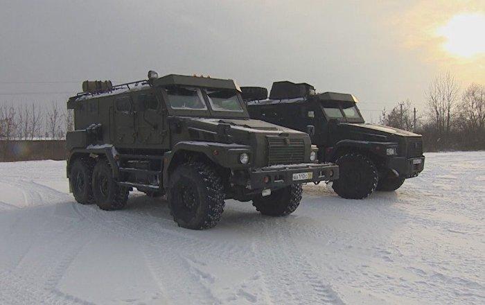 El moderno vehículo blindado de combate Patrulla