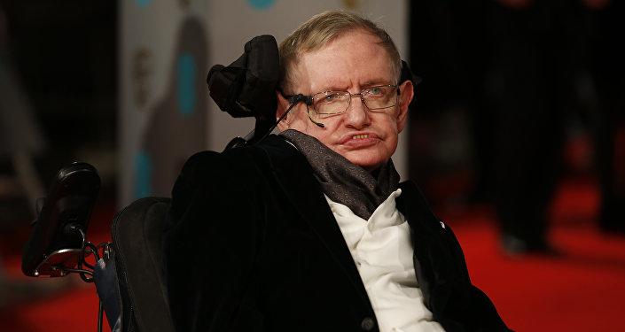 Stephen Hawking en los premios BAFTA
