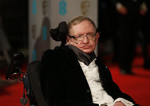 Stephen Hawking, científico británico (archivo)