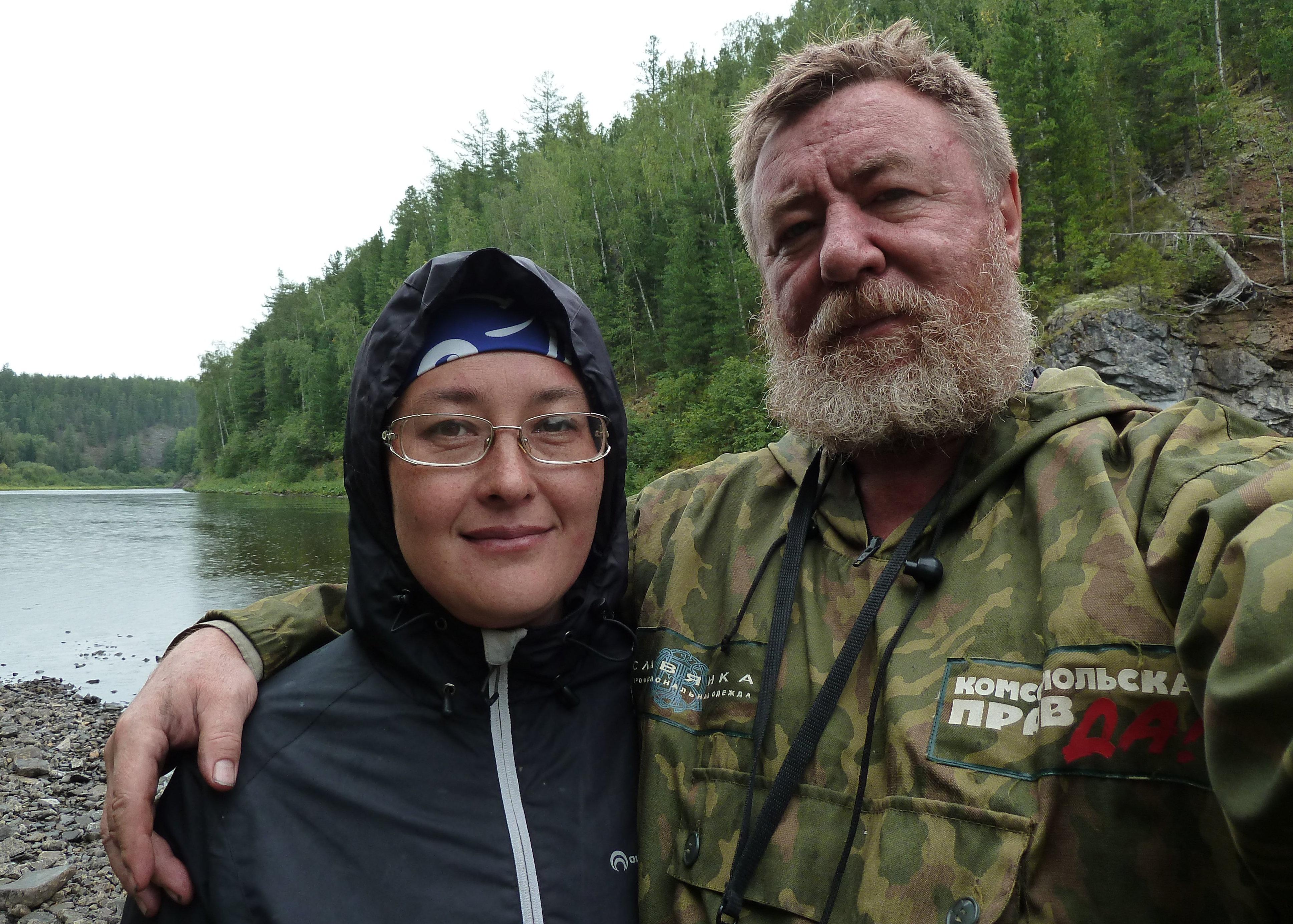 Nikolái Varségov y su esposa Natalia, periodistas del diario Komsomólskaya Pravda, investigadores del accidente en el paso Diátlov