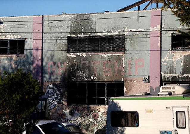 Consecuencias del incendio en Oakland, California