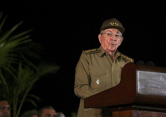 Raúl Castro, presidente de Cuba (archivo)