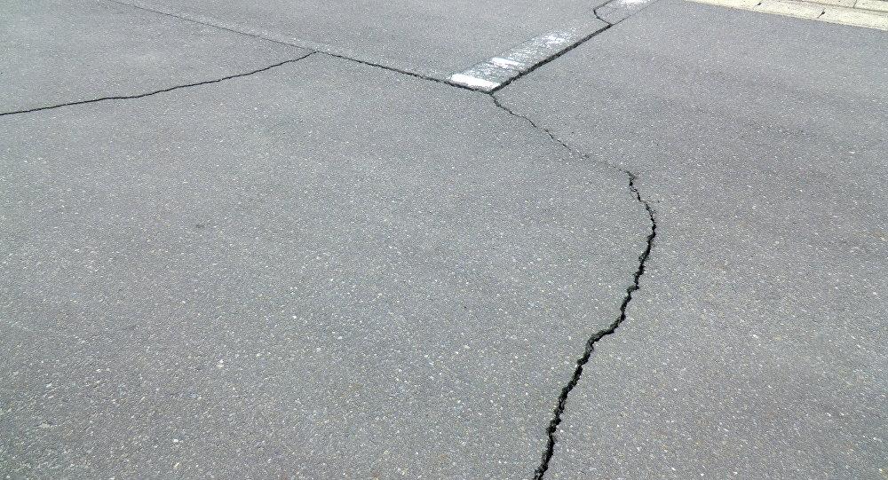Un terremoto (imagen referencial)