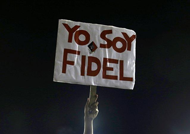 El funeral del comandante Fidel Castro