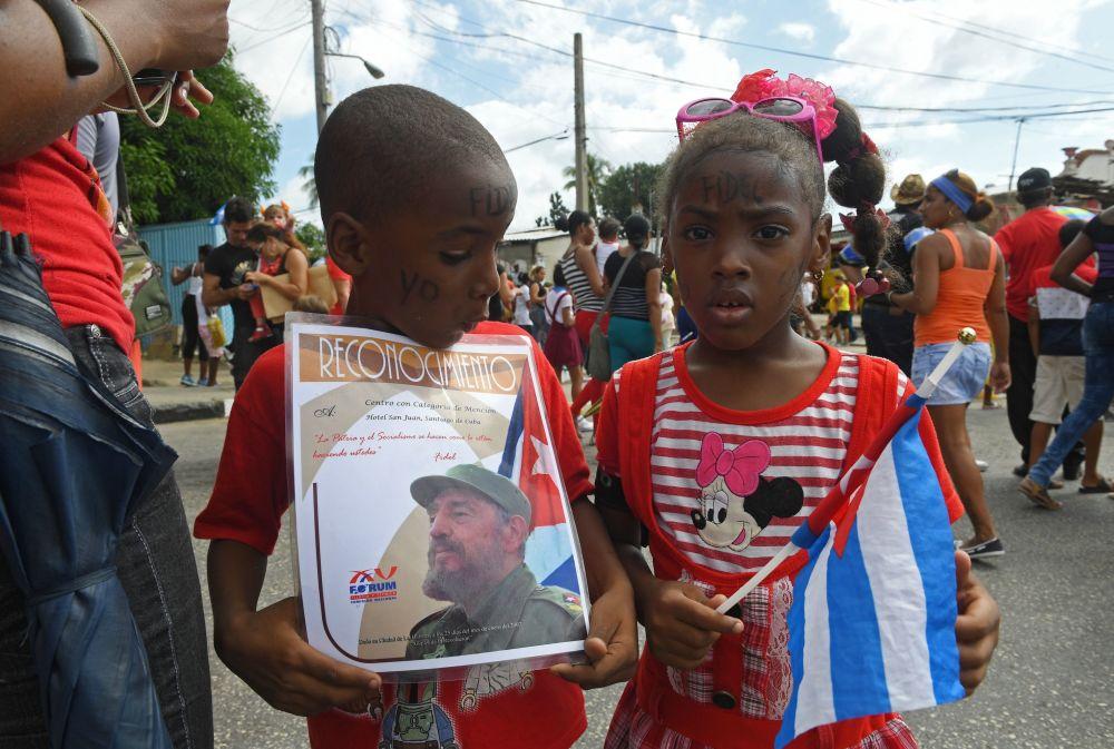 Santiago de Cuba en vísperas del funeral de Fidel Castro