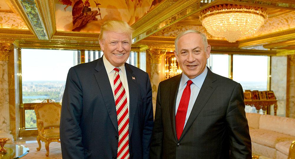 El presidente estadounidense, Donald Trump, y el primer ministro de Israel, Benjamín Netanyahu (archivo)