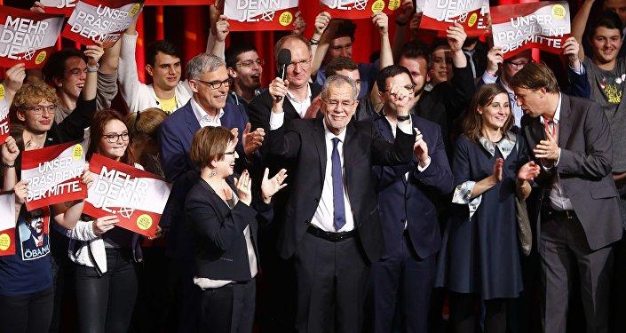 Alexander Van der Bellen, el candidato a la presidencia de Austria