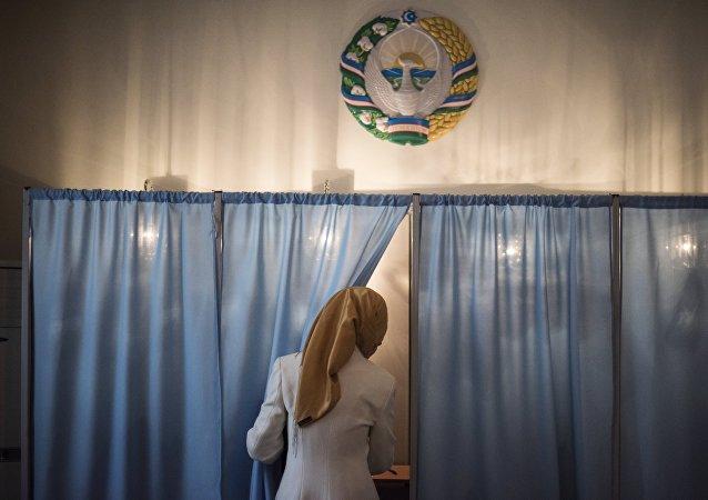 Las elecciones presidenciales en Uzbekistán
