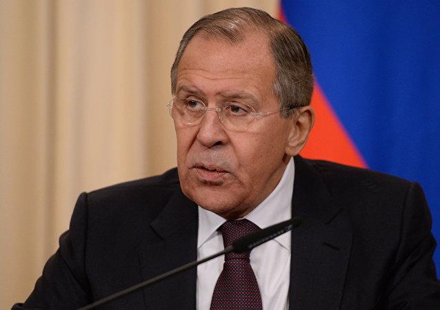 Seguéi Lavrov, ministro de Exteriores de Rusia