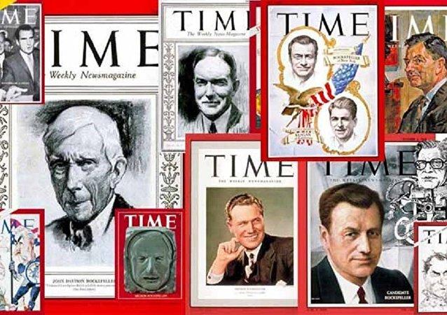 Las portadas de la revista Time de diferentes años