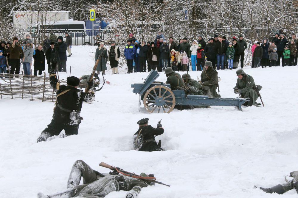 La línea principal: reconstrucción de uno de los combates de la Batalla de Moscú (1941-1942)