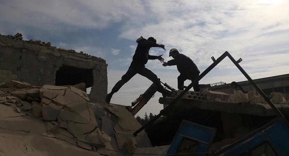 Civiles en Idlib (archivo)