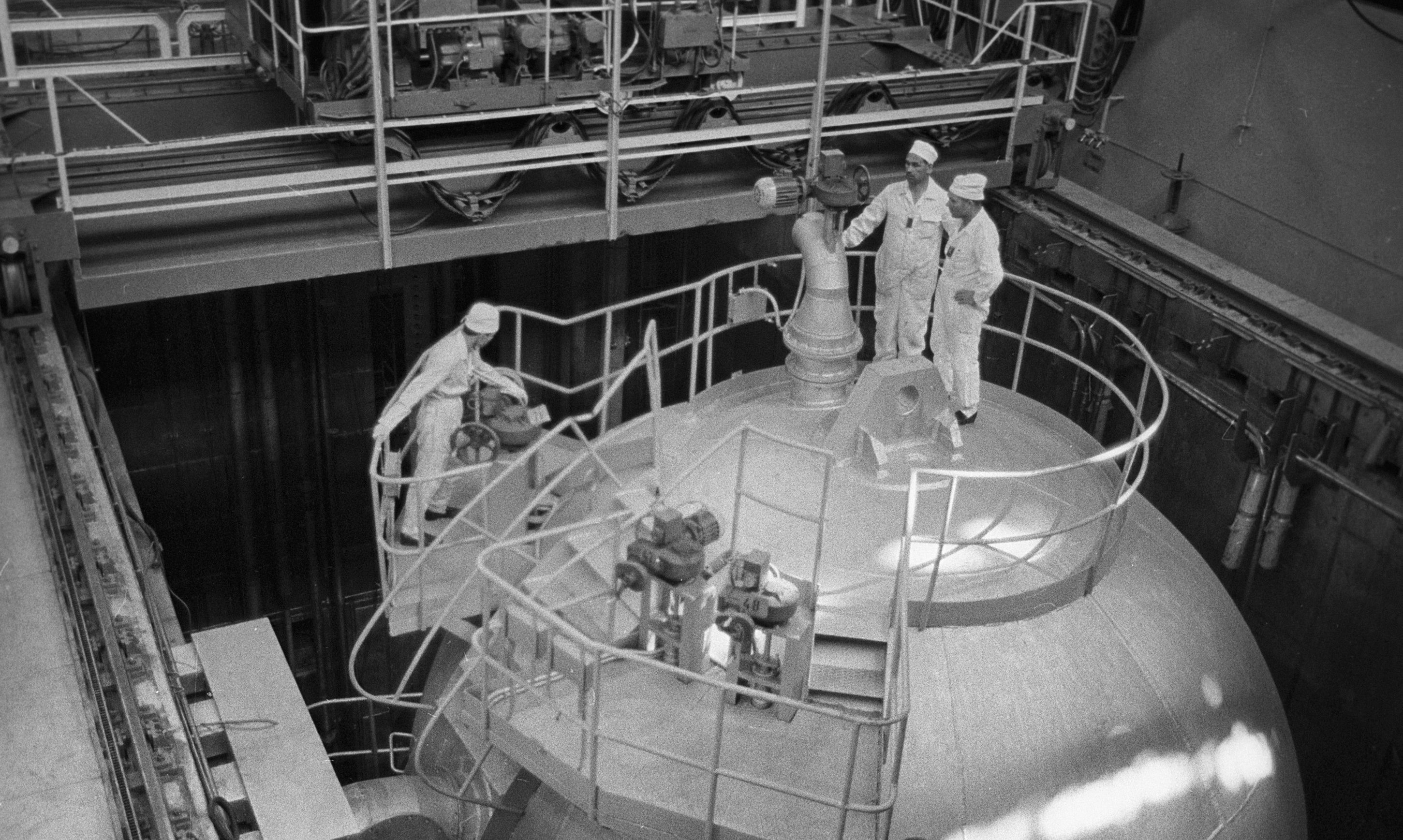 Planta nuclear de Novovoronezh, 1964.