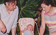 Vladimir Roslik y su familia