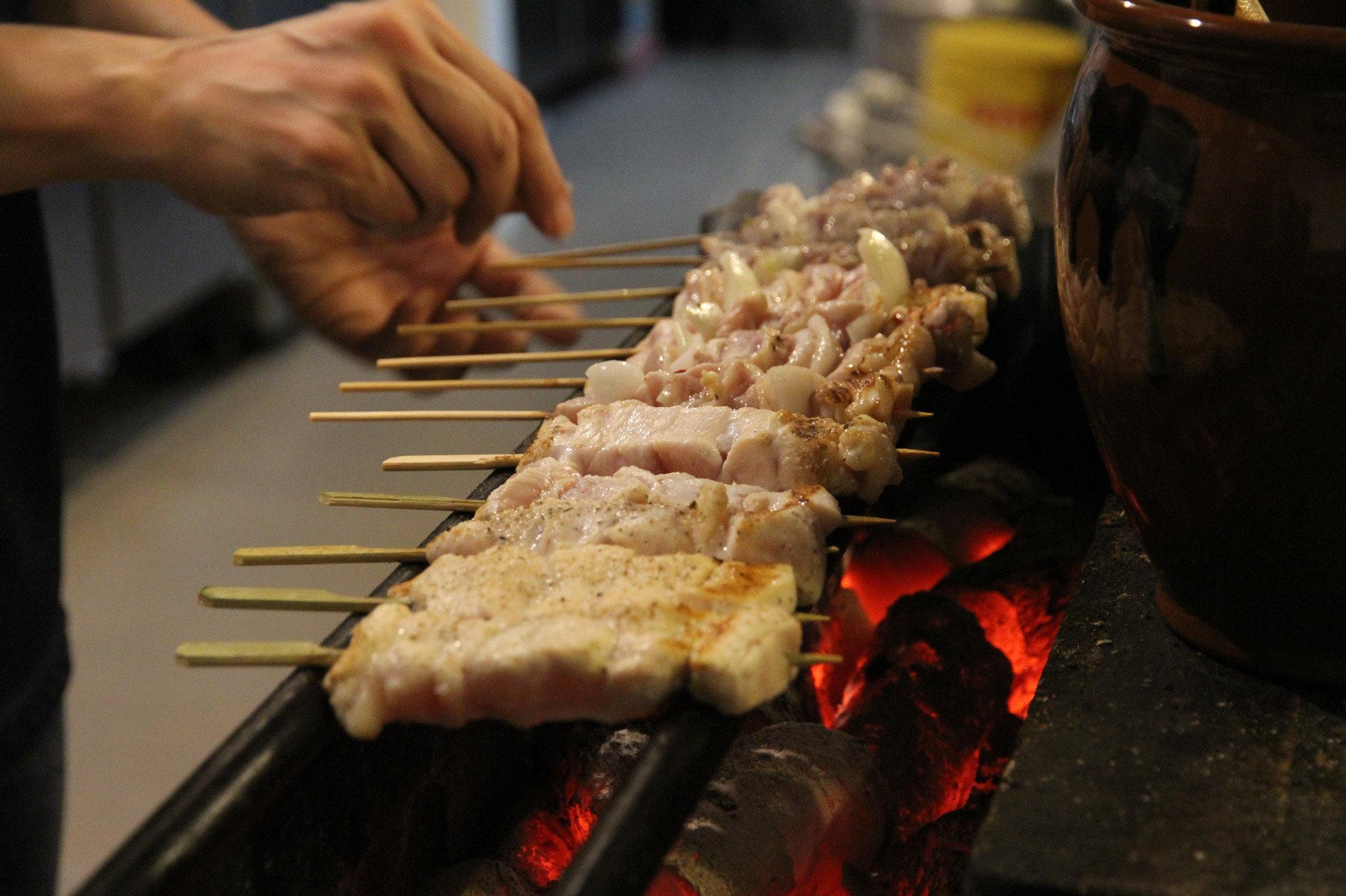 Un kebab ruso ... que todavía se ve muy japonés