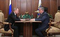 Vladímir Putin e Ígor sechin