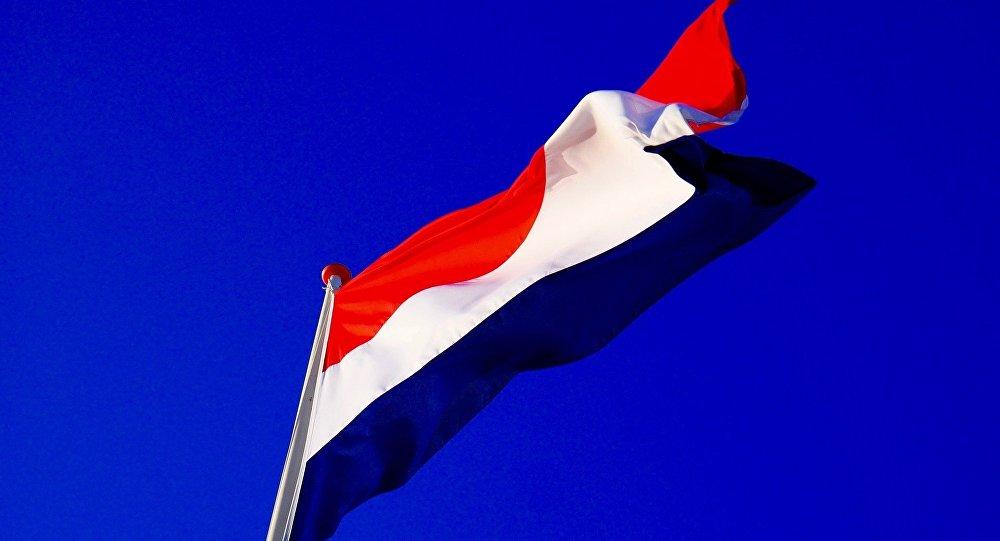 La bandera de los Países Bajos (imagen referencial)