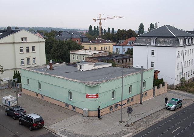La mezquita atacada en Dresde