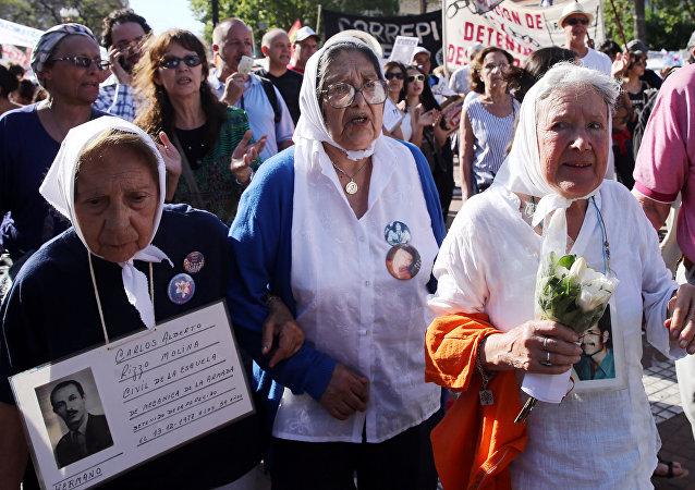 Madres de Plaza de Mayo en Buenos Aires (archivo)