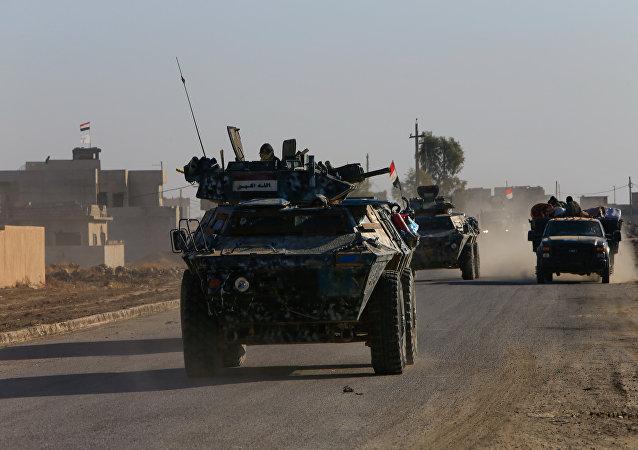 Militares iraquíes (imagen referencial)