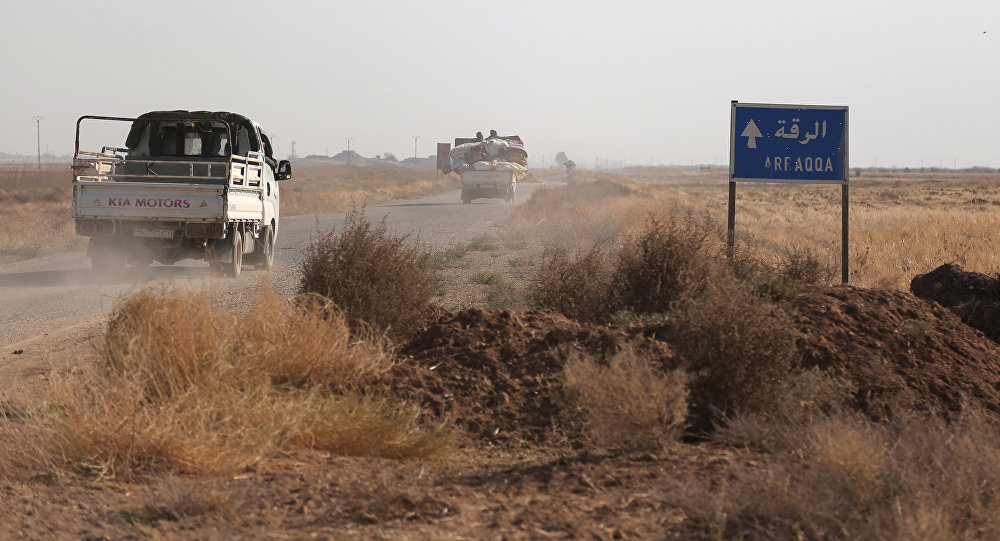 Situación en las afueras de Al Raqa (archivo)