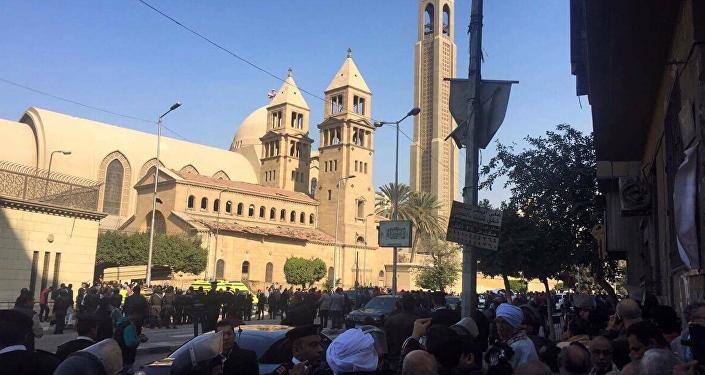 Iglesia copta en El Cairo (archivo)