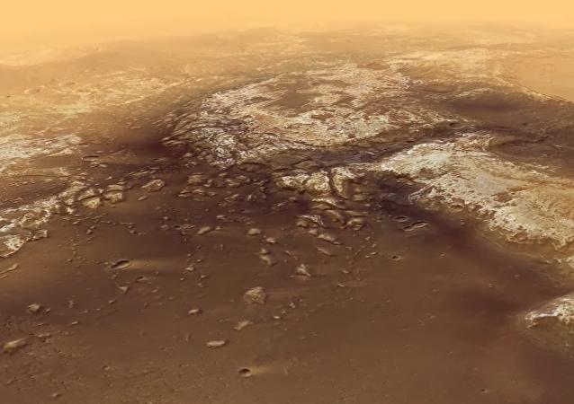 Viajar por Marte en seis minutos: un increíble recorrido por la superficie del planeta rojo